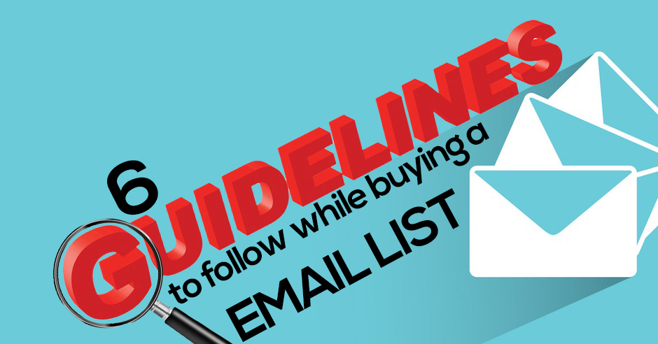 buying a business email list