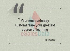 Your most unhappy customers are your greatest source of learning-min