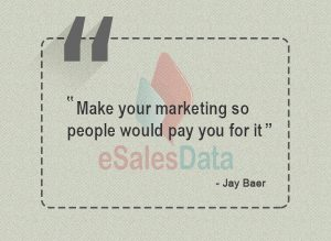 Make your marketing so useful people would pay you for it