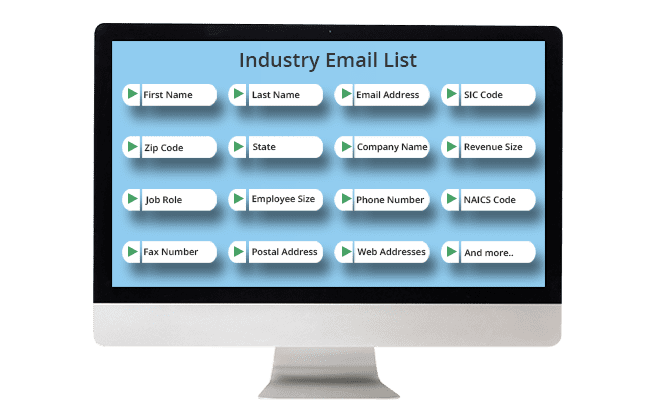 Industry Email List