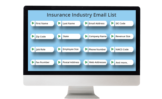 Insurance Email List