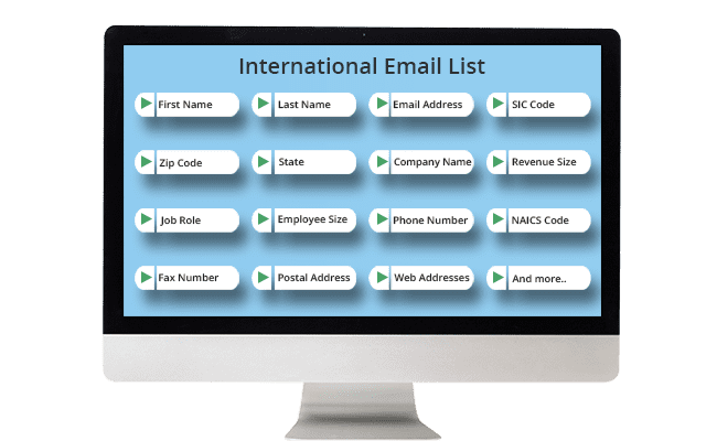 International Email List