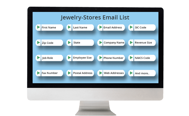 Jewelry stores email list