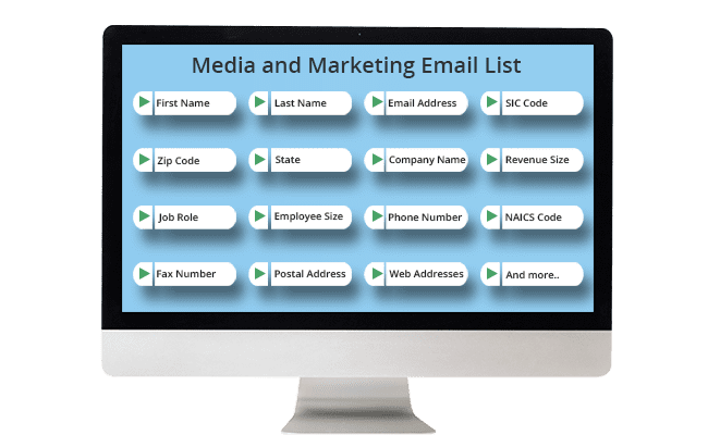 Media and Marketing List