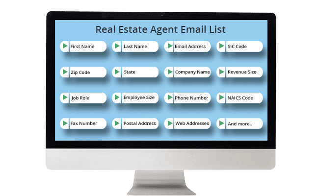 Real estate agent list