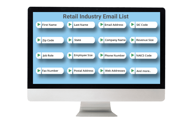 retail email list