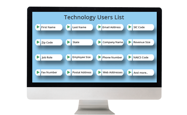 Technology Users List