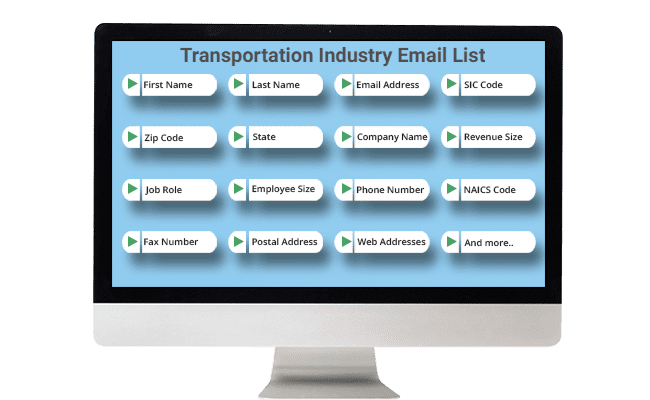Transportation Email List