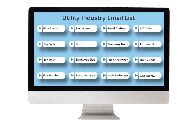 Utility Industry Email List
