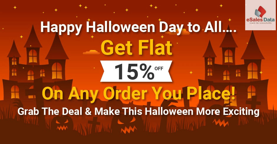 Halloween Day Offers 2020 Halloween Day Offer – eSalesData Announces Flat 15% Off on Any Orders
